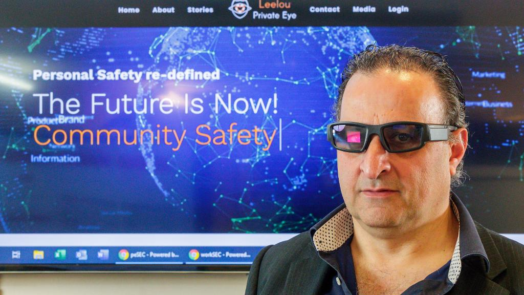 Radical smart glasses screen crowd in a bid to find missing children.